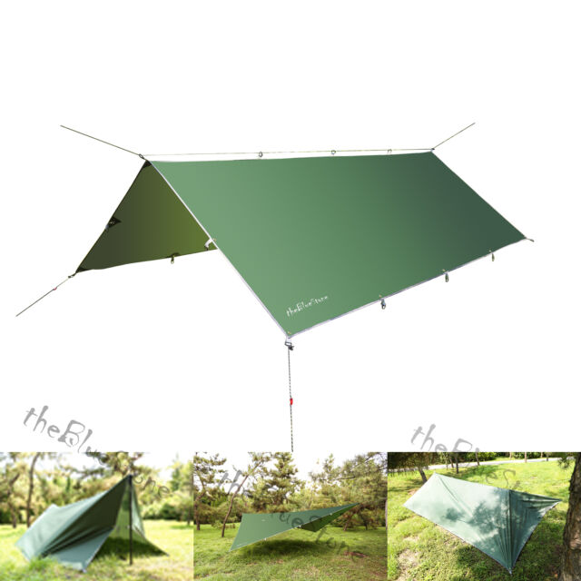 Outdoor C&ing Waterproof Rain Tarp Tent Canopy Shelter Cover Sunshade 10x 12FT  sc 1 st  eBay & Outdoor Camping Waterproof Rain Tarp Tent Canopy Shelter Cover ...