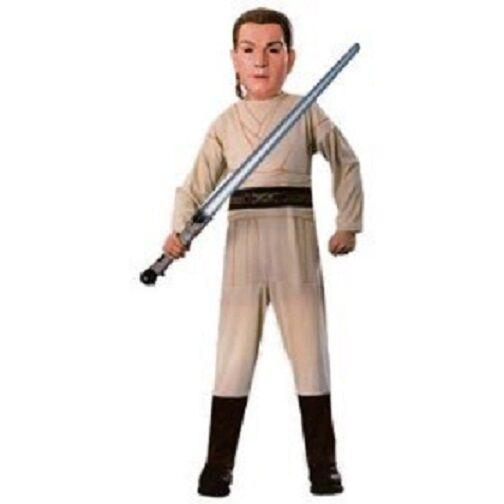 Kids Star Wars Halloween Costume Obi-wan Kenobi Jedi Knight Boys Choose Size | eBay  sc 1 st  eBay & Kids Star Wars Halloween Costume Obi-wan Kenobi Jedi Knight Boys ...