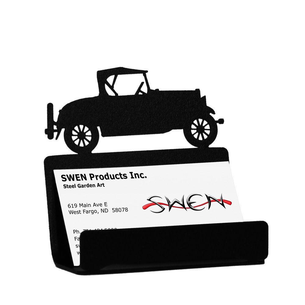 Swen Products Car Model a Black Metal Business Card Holder | eBay