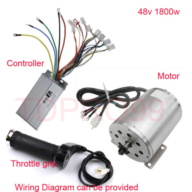 1800w 48v Brushless Electric Motor Sd Controller Throttle Grip ... on dc brushless fan wiring diagram, controller wiring diagram, brushless motor wiring layout, engine wiring diagram, boat stereo installation wiring diagram, wye motor connection diagram, speed control wiring diagram, dc motor diagram, leroy somer relay wiring diagram, electric heaters wiring diagram, traction motor diagram, radio wiring diagram, outrunner brushless motor diagram, esc wiring diagram, ac motor diagram, brushless esc wiring, brushless motors explained, electric motor diagram, rc car wiring diagram, brushless generator diagram,