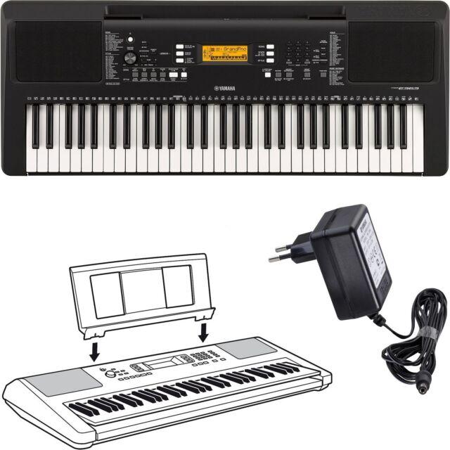 Yamaha keyboard psr e363 versandretoure ebay for Yamaha psr e363