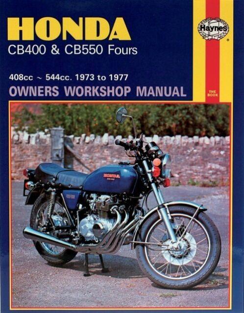 haynes repair manual cb400 550 262 honda ebay rh ebay com 1976 Honda CB550F Super Sport 1976 Honda CB550F Super Sport