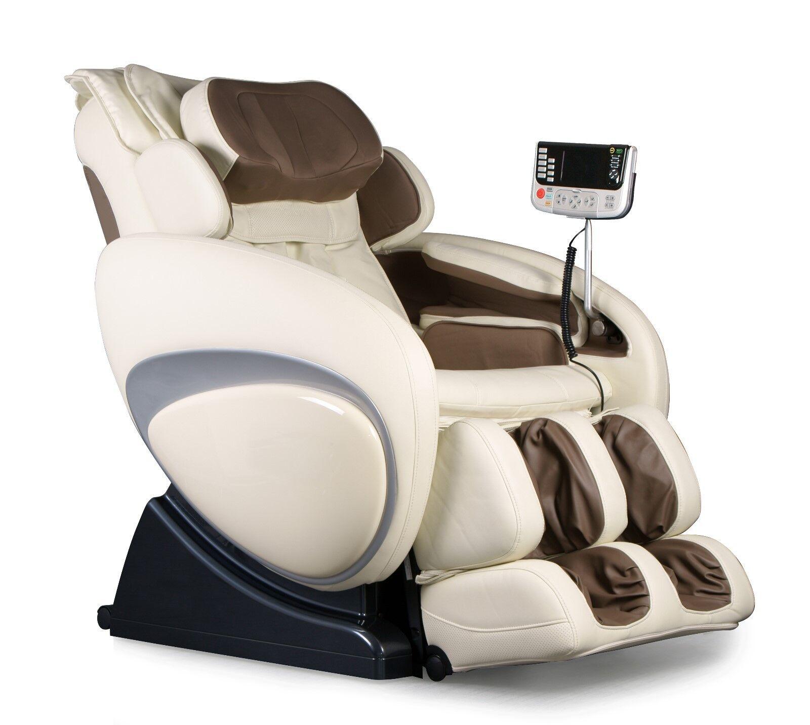 Cream Color Osaki Os 4000 Zero Gravity Massage Chair Recliner 4