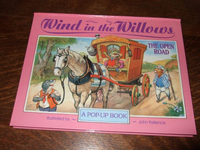 Wind in the Willows Pop-Ups: The Open Road by Kenneth Grahame (Hardback)