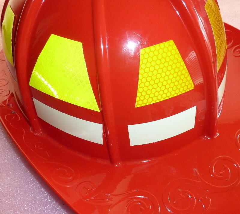 Set Limeyellow M Scotchlite Reflective Fire Helmet - Fire helmet decalsexclusive reflective helmet tetrahedron