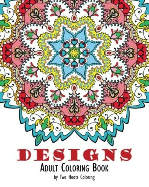 Adult Coloring Book Designs New Free Shipping