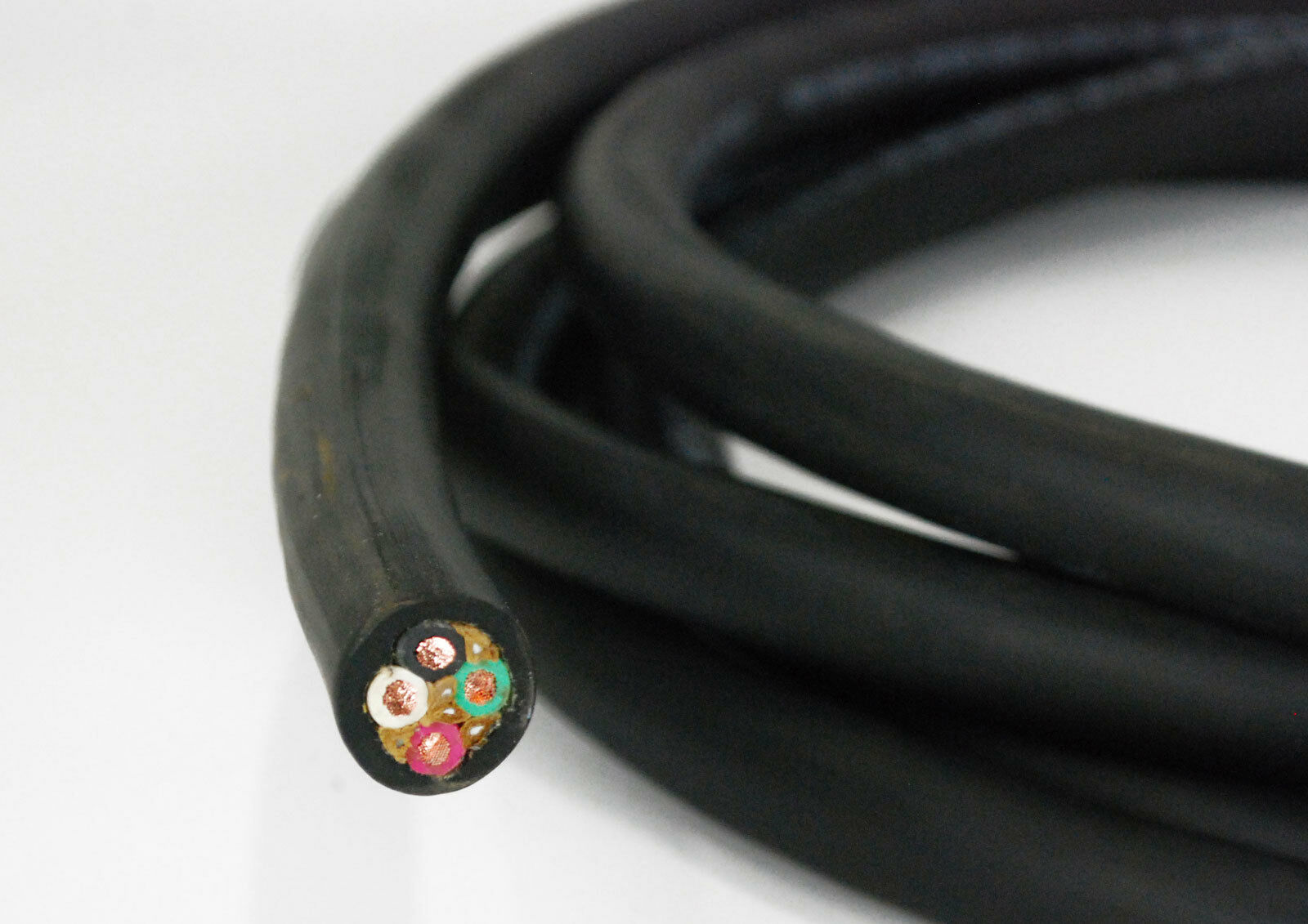 104050 50\' 10/4 Wire Cord SOOW Rubber Coated 10 Gauge 4 Conductor ...