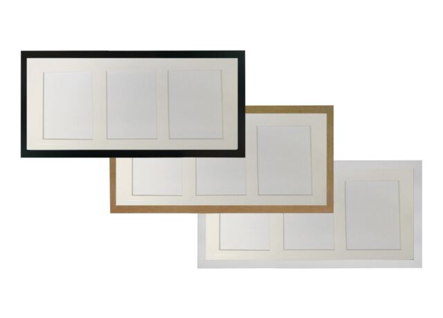 Picture Photo Frame H7 With Multi Mount Apertures to Hold 3 7 X 5 ...