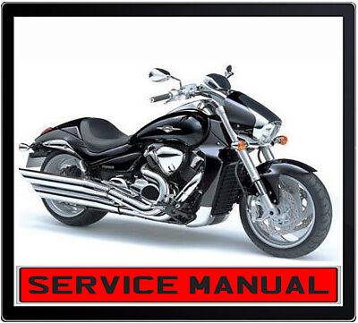 suzuki vzr 1800 boulevarde m109r 2006 onward bike repair service rh ebay com au 2002 Suzuki 250 ATV 2002 Suzuki 250 ATV