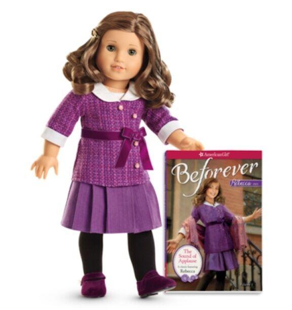 Mattel G1134 American Girl Rebecca Doll And Paperback Book