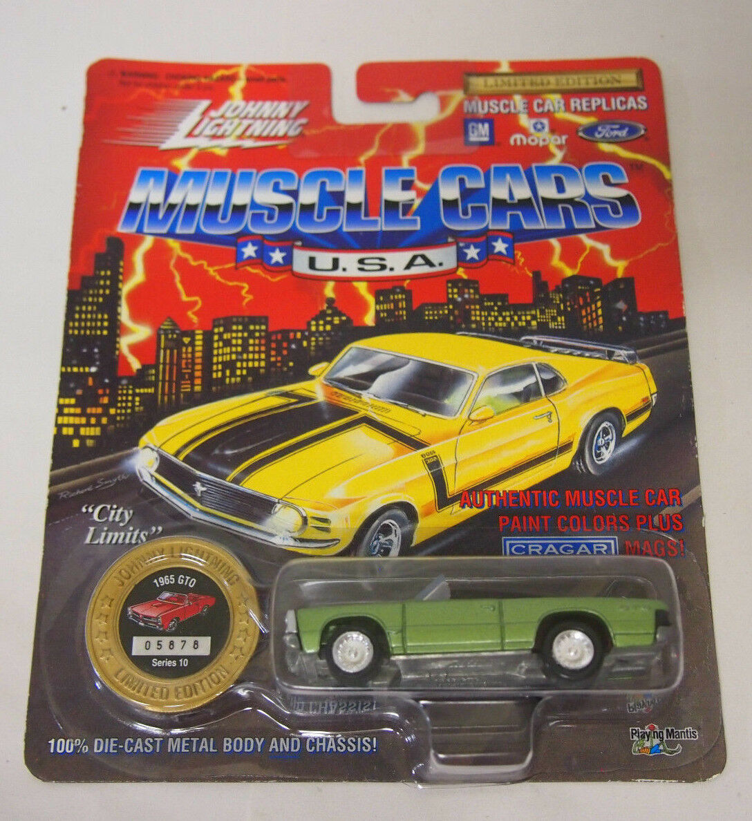 Johnny Lightning Muscle Cars USA I 1965 GTO Series 10 Limited ...