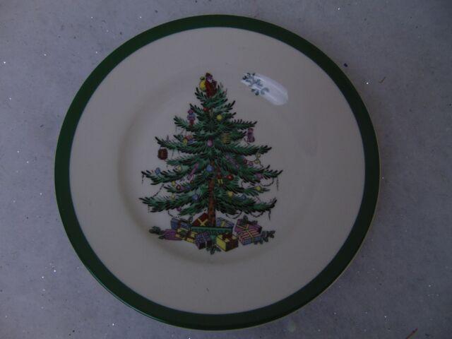 Spode Dinnerware, Christmas Tree Bread & Butter Plate 6