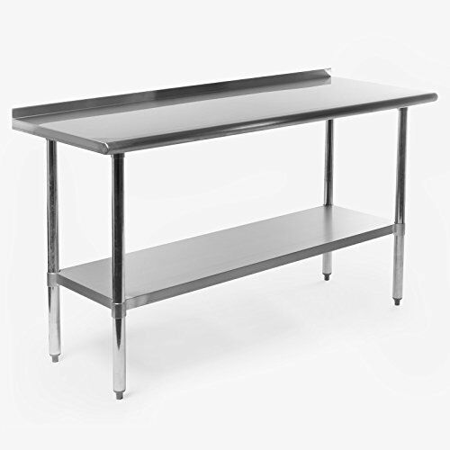 Gridmann NSF Stainless Steel Commercial Kitchen Prep & Work Table W ...