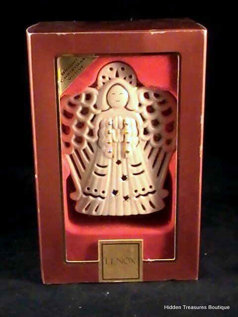 Lenox angel bright christmas votive tea light holder