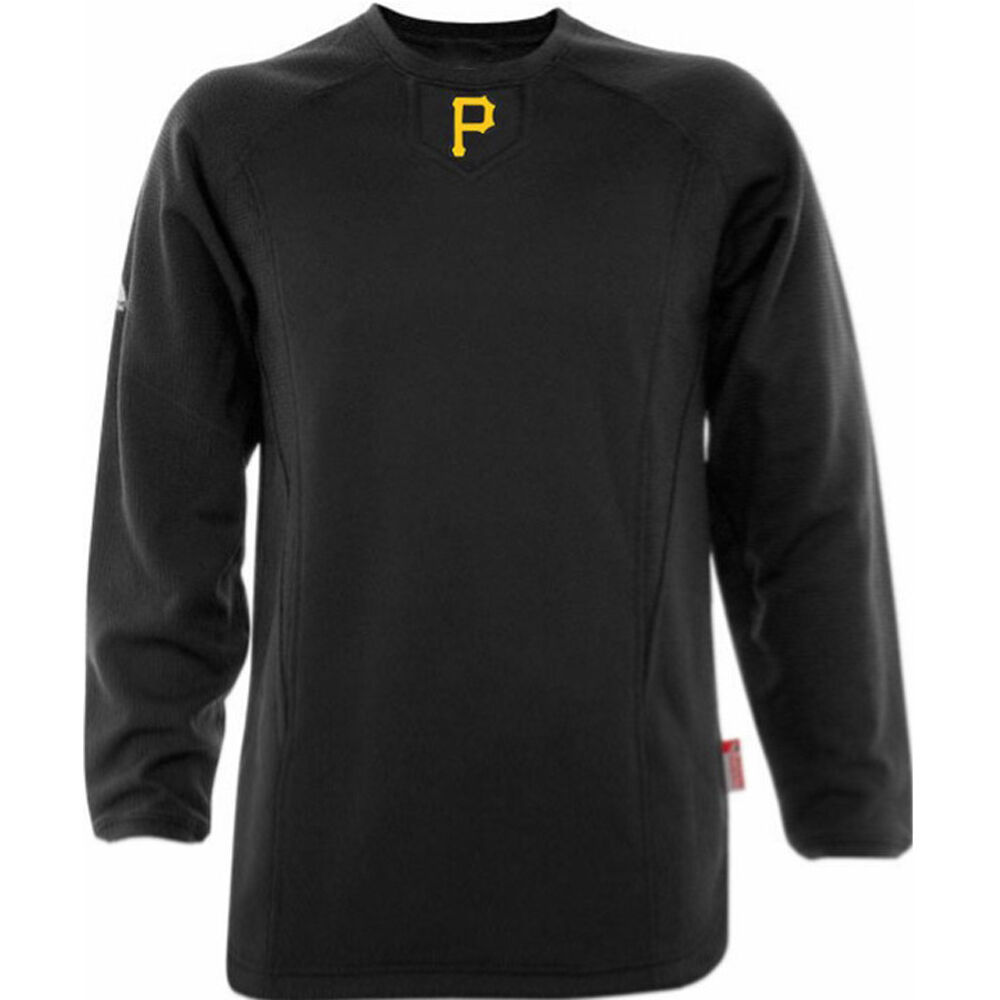 Pittsburgh Pirates Therma Base Tech Fleece Pullover Small Black ...