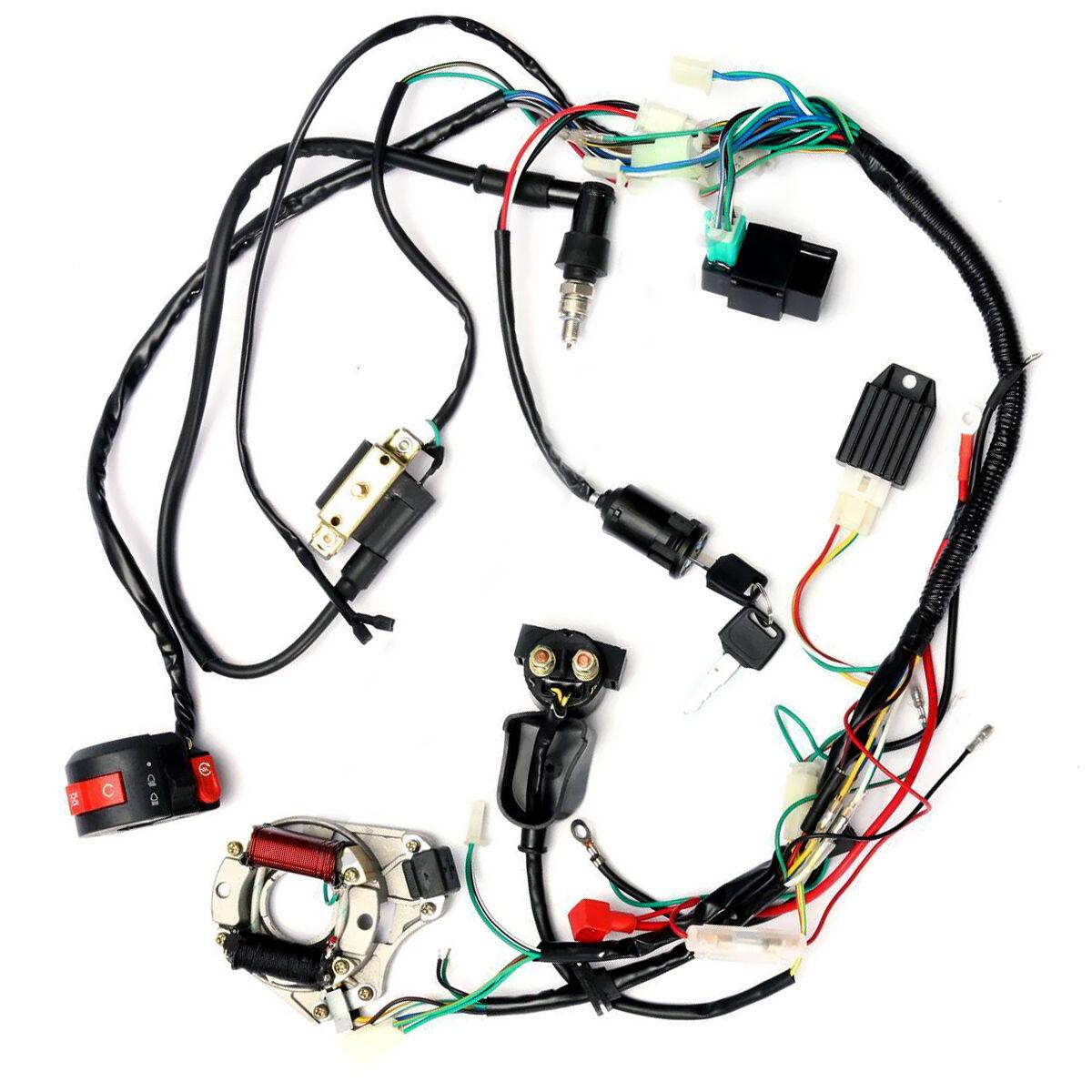 hensim 50cc atv wire diagram best wiring libraryebay 50cc atv wiring  harness wiring diagram with description