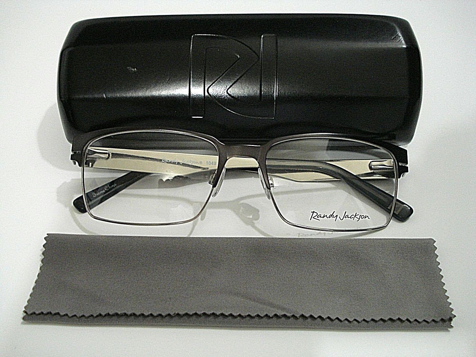 Randy Jackson RJ 1049 Rj1049 058 Gunmetal Eyeglasses Rx-able Frame ...