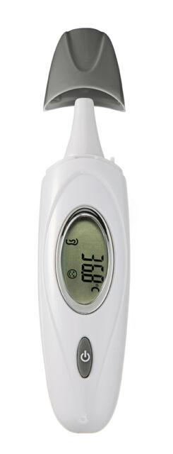 Reer SkinTemp 3 in 1 Infrarot-Thermometer Schläfe Ohr