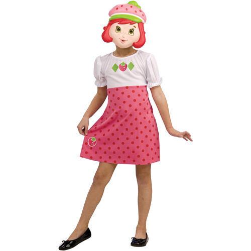 Rubie\u0027s Strawberry Shortcake Halloween Dress up Costume Girl Kid Medium 8  10
