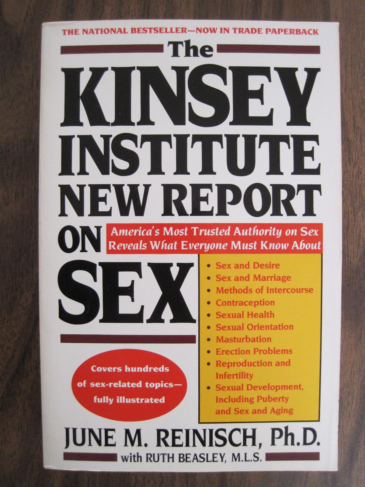 Institute kinsey new report sex