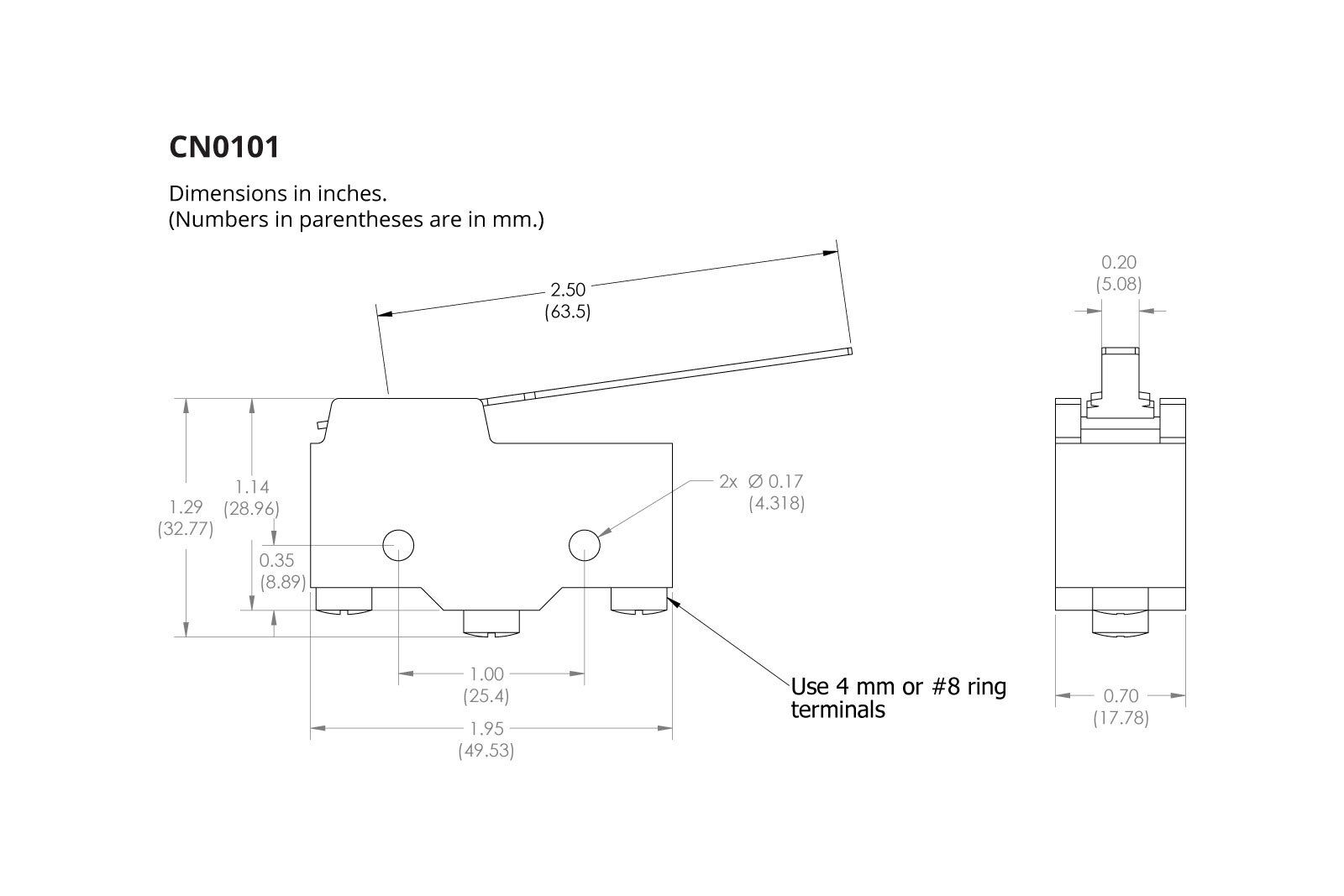 Limit Switch Lever Arm Diagram - Wiring Diagram For Light Switch •