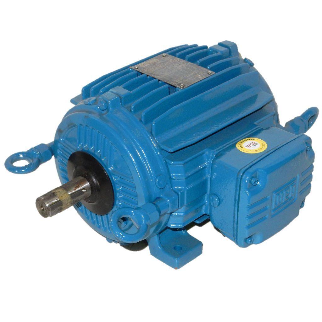 WEG 2 HP 1800 RPM TEAO 208/230/460 Volts 145t 3 Phase Motor ...