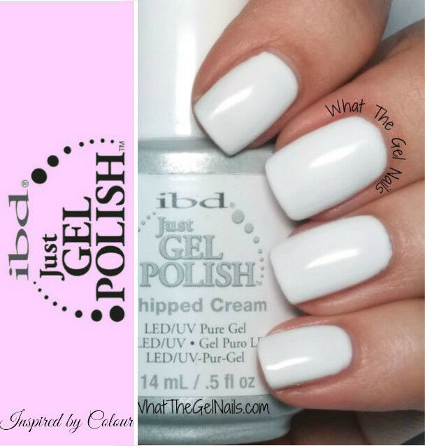 IBD Just GEL Polish Whipped Cream LED and UV Pure GEL 14ml | eBay