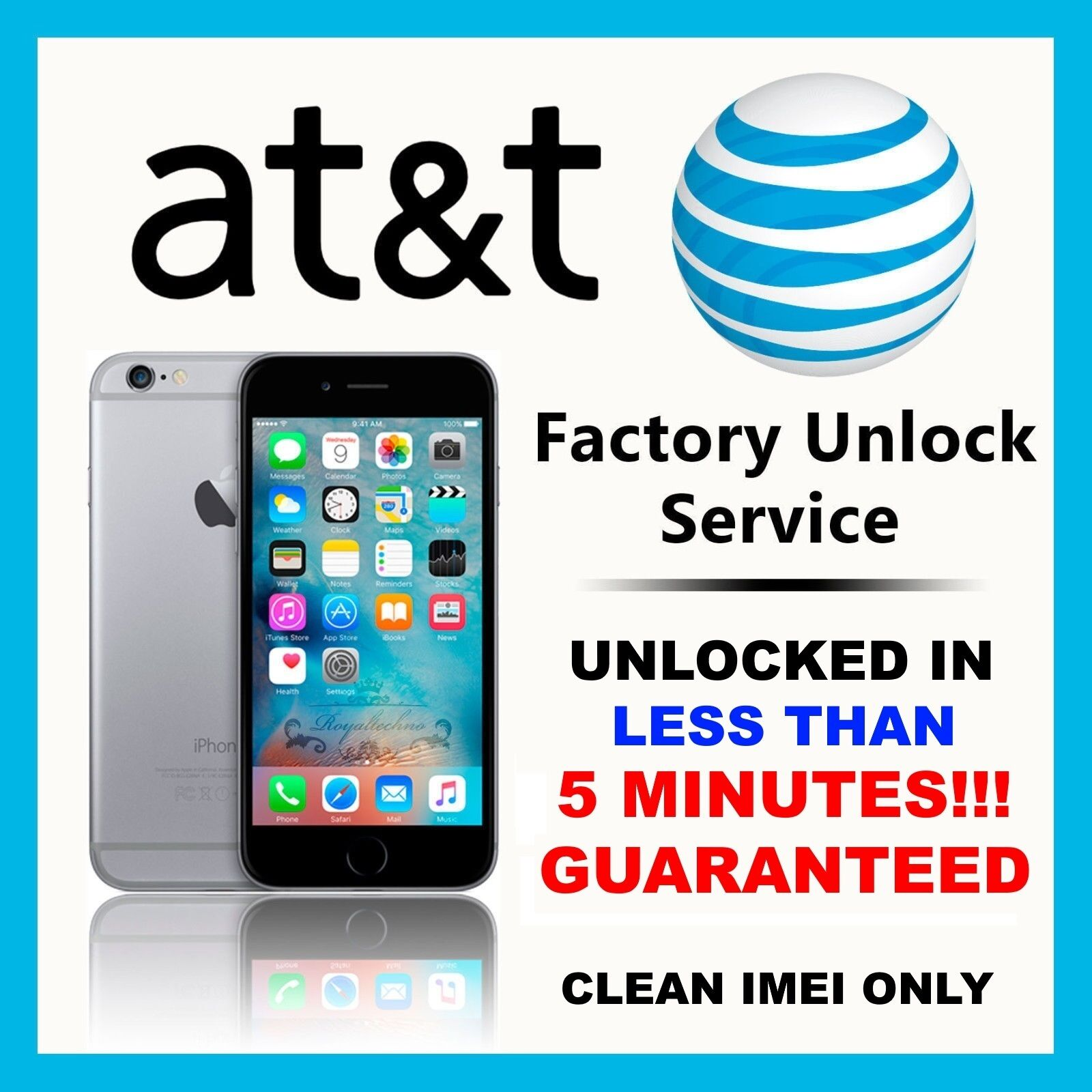 Att unlock device phone number - Picture 1 Of 3