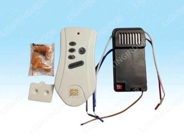 Universal Ceiling Fan Remote Control Kit For All Sized Fans