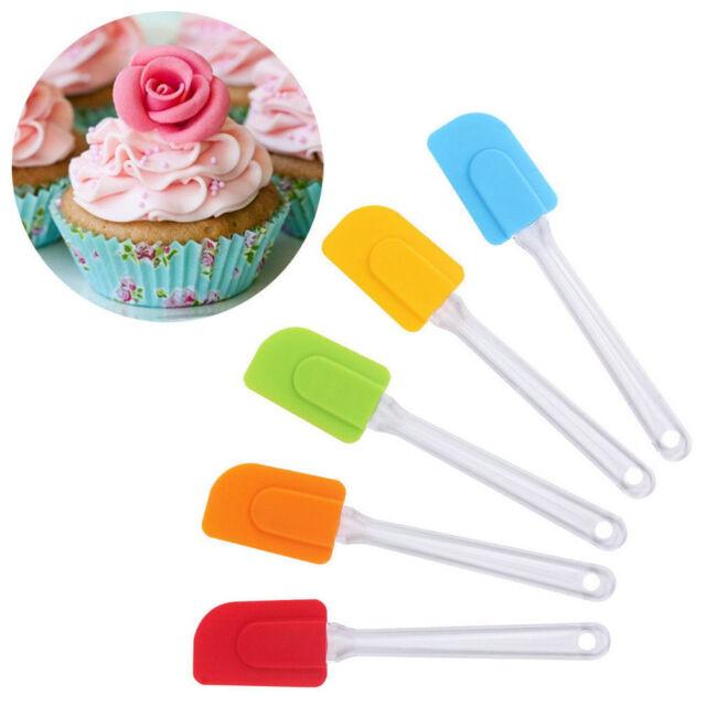 Kitchen Utensil Tool Cake Spatula Butter Mixer Cooking Baking Scraper Silicone E