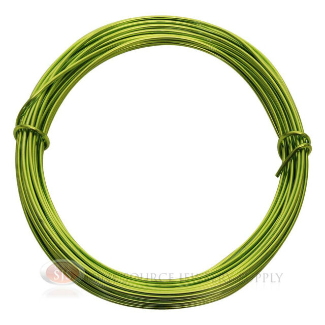 39 ft apple green aluminum craft wire 12 gauge jewelry making 39 ft apple green aluminum craft wire 12 gauge jewelry making beading wrapping greentooth Image collections