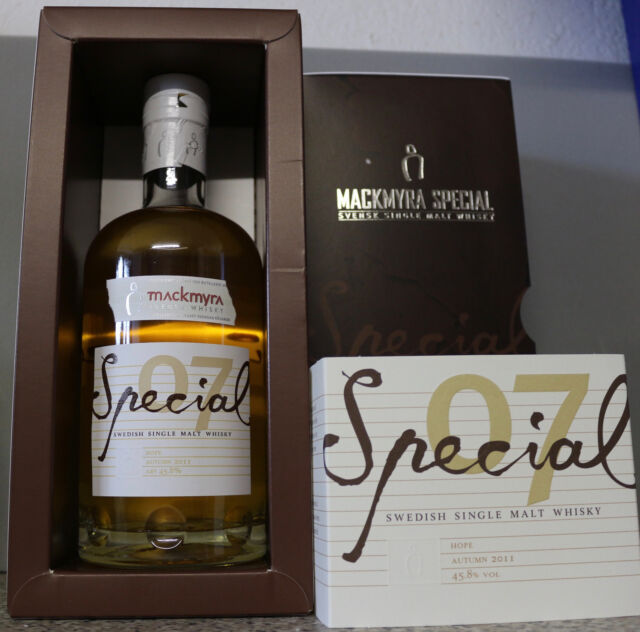 Mackmyra Special 07 Limitierte Abfüllung 0,7 L mit 45,8% Schwedischer Whisky