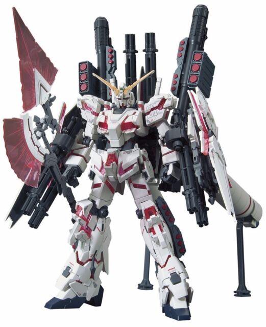 HGUC RX-0 Full Armor Unicorn Gundam Destroy Mode Red color Ver. Plastic Model