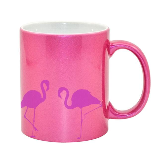 Flamingo Tea Coffee Mug Cup Pink Gift Idea Presents Things Stuff Adults Girls