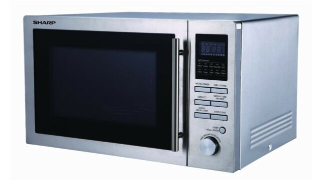 Sharp R84ao 220 240 Volt 25l Microwave Convection Oven Grill 220v 240v 50hz