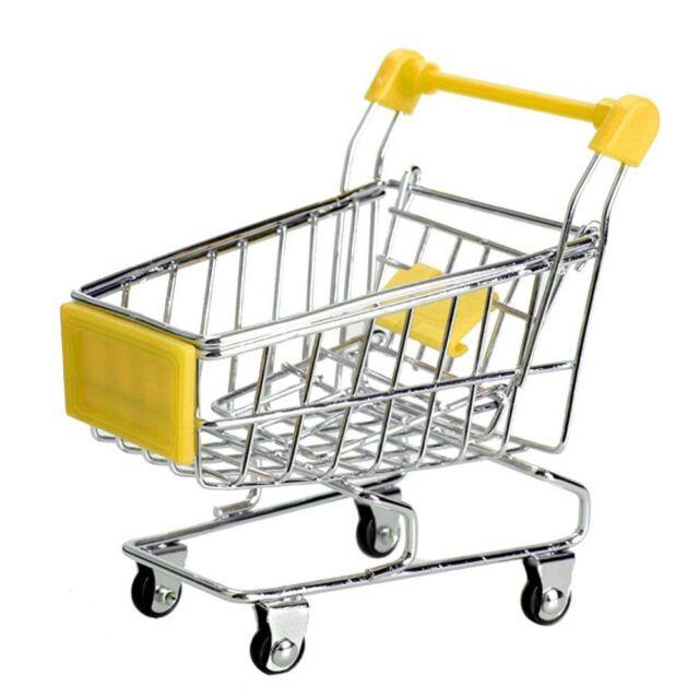 Mini Einkaufswagen Handwagen Einkaufszweckwagen Modus Lagerung Spielzeug A9D1R6V