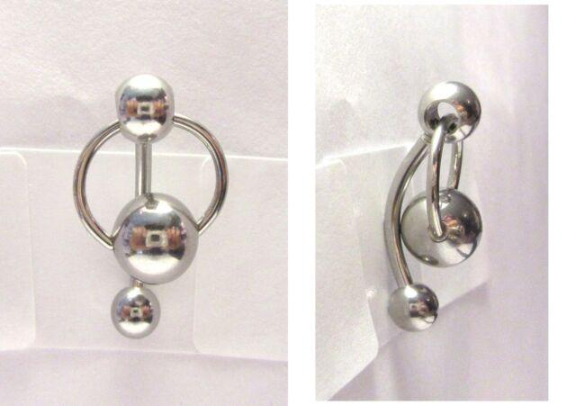 Plastic clitoris ring