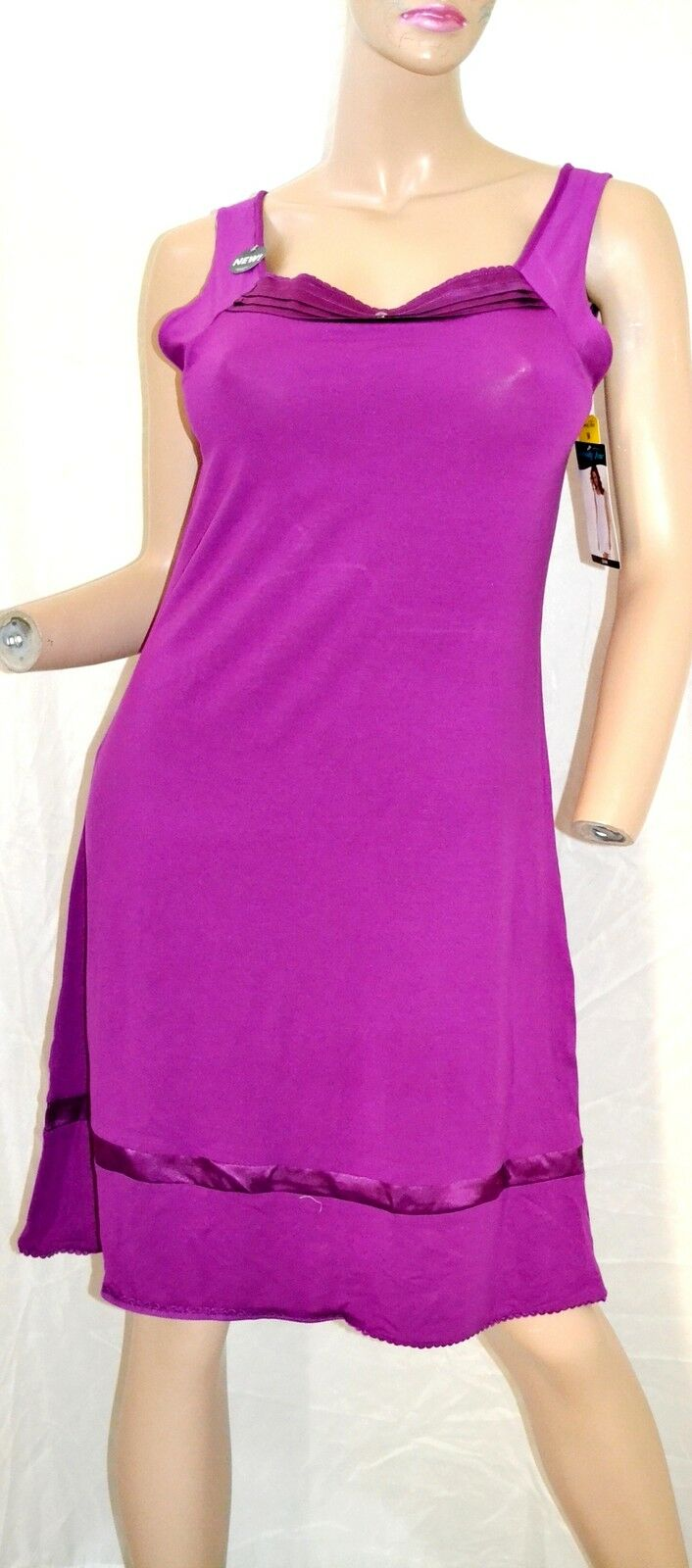 Vanity Fair Iris Modal Sleepwear Sleeveless Dress Gown 30120 Size S ...