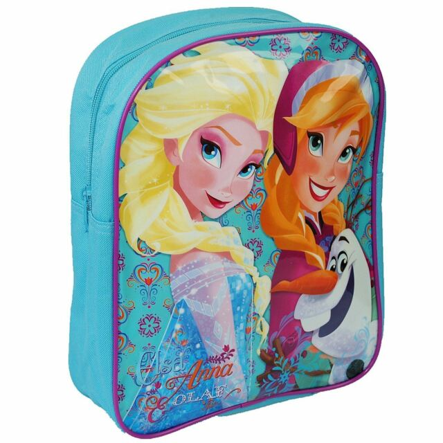b9c6511cde Disney® Frozen Official Children School Backpack Bag - Elsa Anna and Olaf