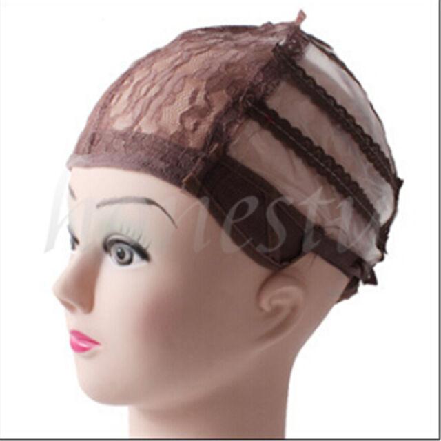 1pc Wig Making Base Inner Cap Adjustable Weave Breathable Weaving