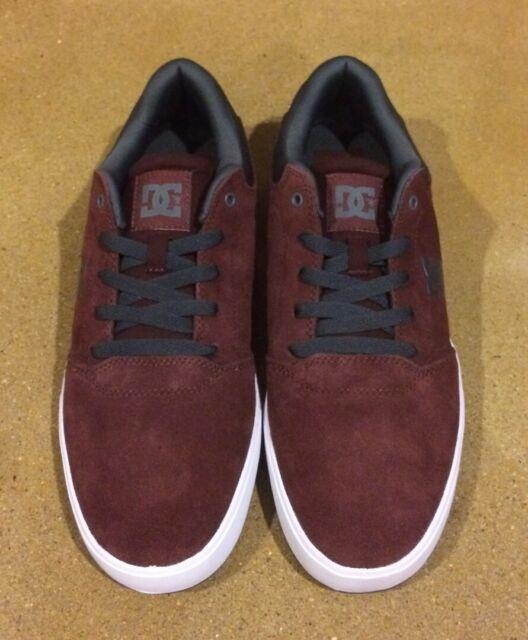 DC Crisis Size 11 Mens Burgundy BMX Skate Shoes Sneakers