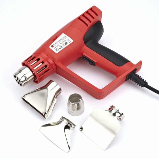 Hot Air Heat Gun 2000W Temperature Paint Stripper DIY Tool Accessories Heatgun