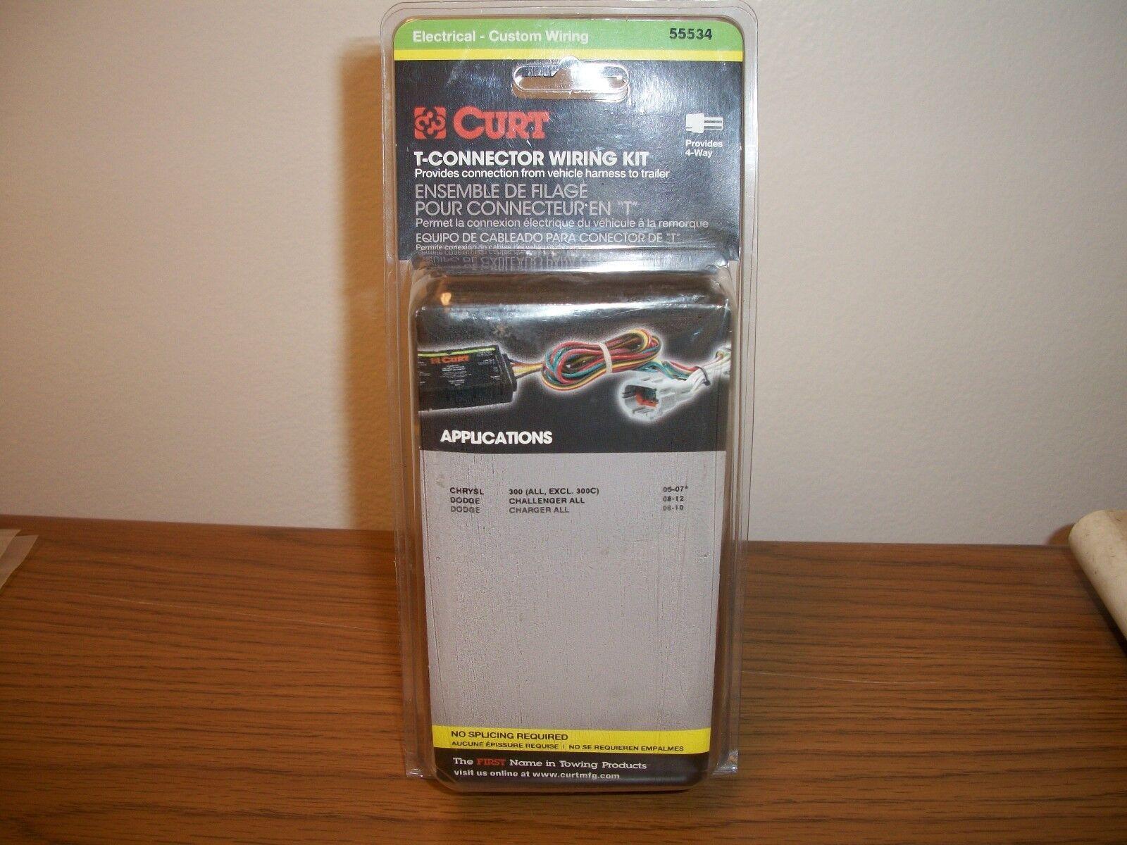 Trailer Connector Kit Custom Wiring Harness Curt Manufacturing 55534 T Rescontentglobalinflowinflowcomponentcancel