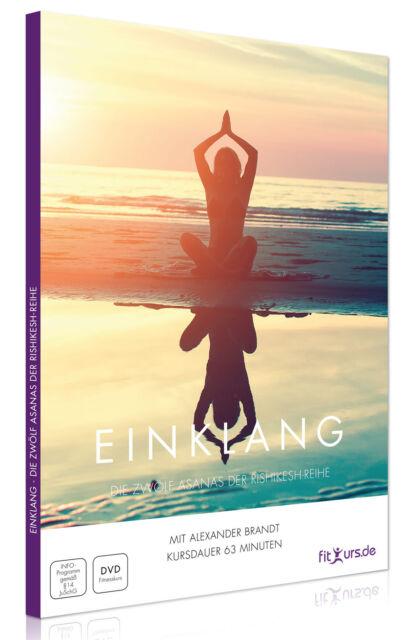 Yoga DVD: 12 Asanas - Kräftigung, Dehnung, Entspannung und geistiger Fokus