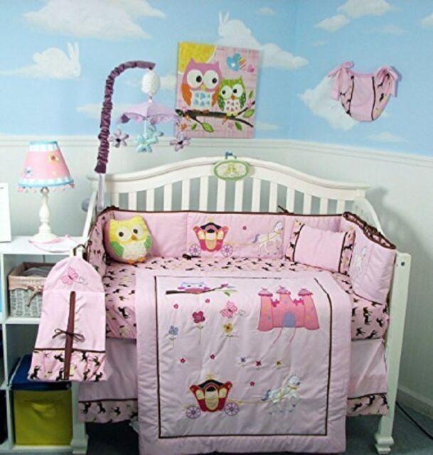 My Baby Girl S Nursery: Pink Crib Bedding Set My Little Princess Infant Baby Girl