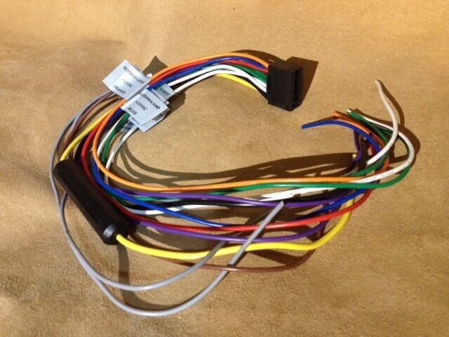 s l640 vr3 vrvd630x car stereo dvd player wiring harness ebay vr3 car stereo wiring harness at reclaimingppi.co