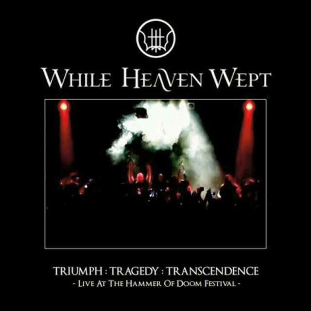 WHILE HEAVEN WEPT Triumph Tragedy Transcendence CD & DVD