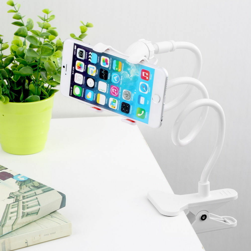 Flexible Lazy Bracket Mobile Phone Stand Holder Car Bed Desk for