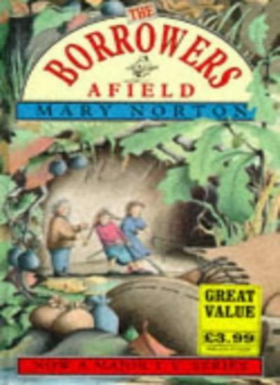 BOOK-The Borrowers Afield,Mary Norton,Diana Stanley