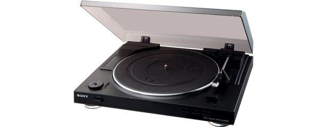 Sony PS-LX 300 USB Vollautomatischer Plattenspieler mit USB-Schnittstelle